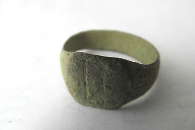Ancient Roman Bronze Finger Ring (#13)
