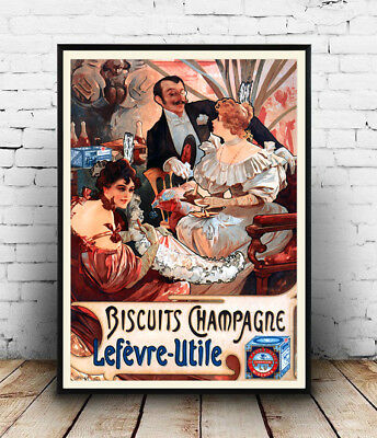 Reproduction 1925 drinks advert Wall art. poster Bitter Astrid