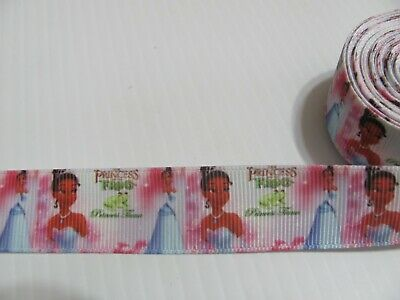 Disney Style Princess and the Frog 7/8 inch Grosgrain Ribbon