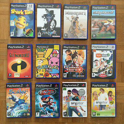 LOTTO 12 videogiochi completi Play Station 2 PlayStation 2 PS2 games videogames