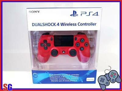Controller Dualshock 4 Wireless V2 Magma Red Playstation 4 Prodotto Ita Nuovo