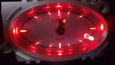 Red Mondeo Mk3 Clock