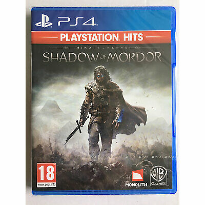 Middle Earth Shadow of Mordor (PS4) New and Sealed