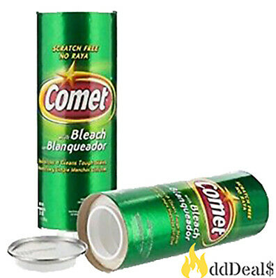 Comet 2X Cleaning Power Bleach Cleanser Diversion Stash Can Safe 21oz