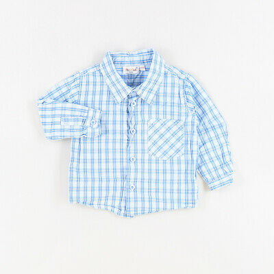 Camisa color Azul marca Pick Ouic 12 Meses  530361