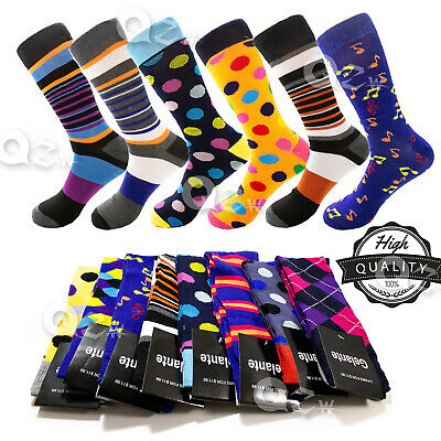 """5 Pairs Mens Argyle Casual Dress Socks /""""Skin contact surface is 100/% cotton/"""" M21"""