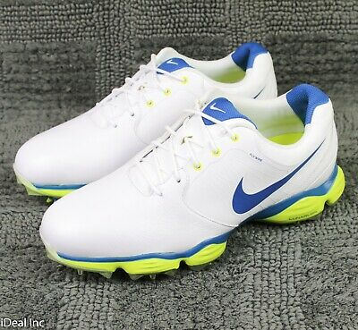 new arrival dc846 3c7f8 Nike Lunar Control II Golf Shoes 2013 Flywire White 552073-128 Men s Size  9.5