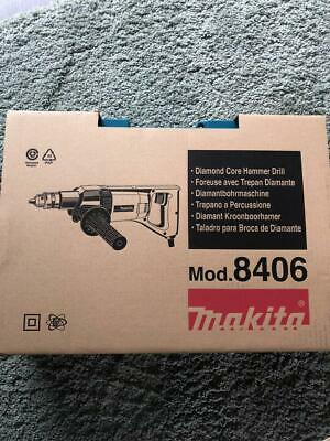 Makita 8406 Diamond Core Drill Rotary Percussion 850w 240V