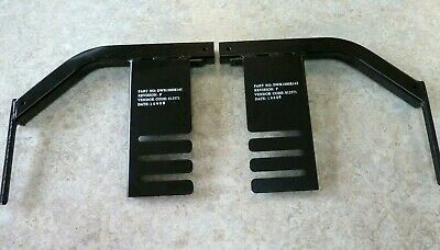 Leg Rest Hanger Recievers for Jazzy Wheelchairs Left & Right FRMASMB6362 D04