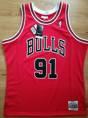 637c4a3cb83 Mitchell And Ness Chicago Bulls Dennis Rodman NBA Swingman Jersey in size XL