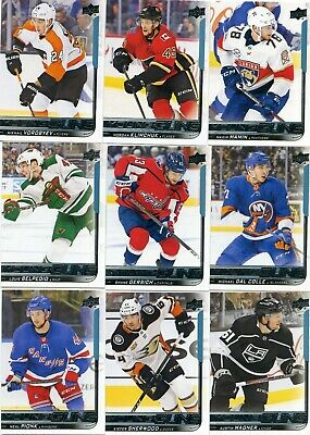 2018-19 UD Upper Deck Young Guns lot of 33 Series 1+2 All Different PETTERSSON
