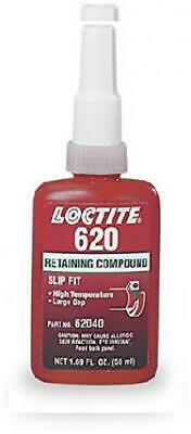 Loctite 620 442-62040 50ml Retaining Compound, High Temperature, Green Color