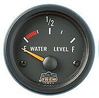 Indicatore Di Carburante O Acqua Gauge Line Incasso 52 Mm Nero 10-180 Ohms