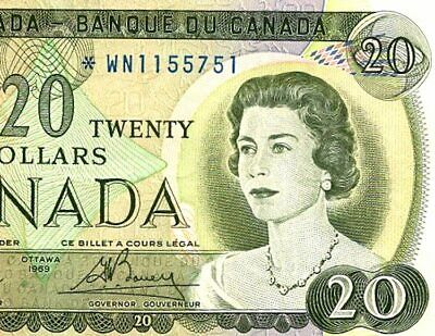 Canada   1954   $ 20   REPLACEMENT NOTE - *W/N