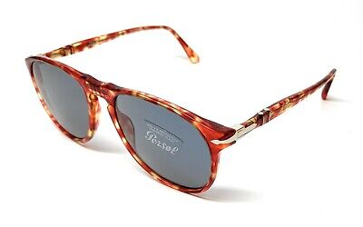 0b4283a48cab New Persol 6649-S 1060/56 Red Tortoise Unisex Authentic Sunglasses 55-18