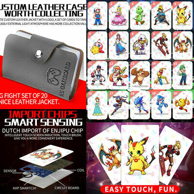 US 20pcs Super Smash Bros. Ultimate PVC Tag Cards for Game toy Switch