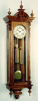 Woodworking plans for a Vienna Regulator wood clock