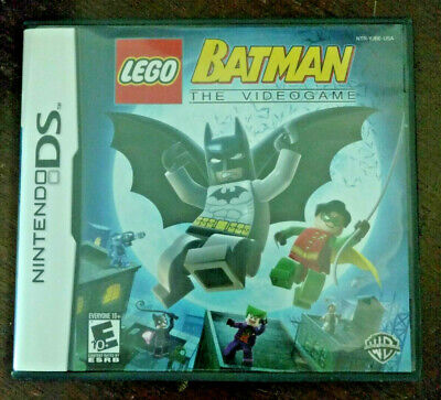 Lego Batman the Videogame Nintendo DS in original case w/ booklet