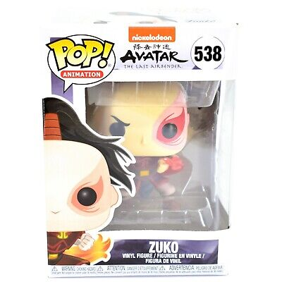 Funko Pop! Animation Avatar The Last Airbender Zuko #538 Action Figure