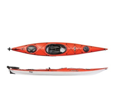 PELICAN MUSTANG 100 Kayak MSRP $350 Color Blue White Fade/Yellow