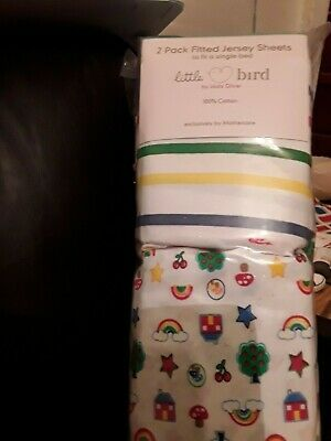 Mothercare Little Bird by Jools Oliver fitted sheets quilt cover