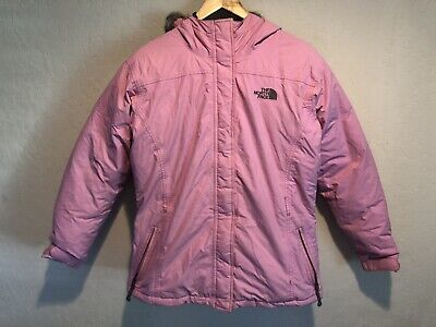 907be89d6 THE NORTH FACE 550 Down Insulated Jacket Girls Size L 14-16 Pink ...