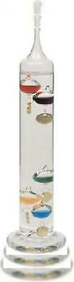 Lily's Home Galileo 14 inch Glass Thermometer with 5 Multi Colored Spheres...