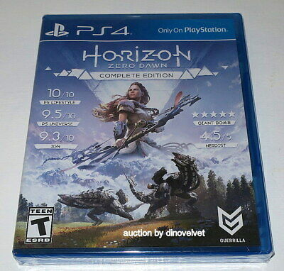 Horizon Zero Dawn Complete Edition With All Dlc Playstation 4 Ps4 New Sealed Nib