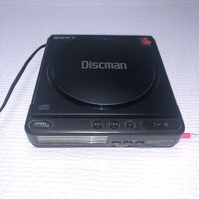 Sony D-4 Rare Discman Personal 1988, Portable CD Compact Disc Player Tested VTG