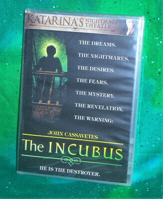 New Oop Scorpion Releasing John Cassavetes The Incubus Horror Movie Dvd 1981