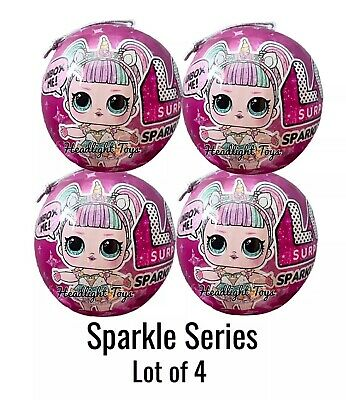 4 LOL Surprise Sparkle Series 6 Ball Big Sister Brother Doll 1 2 3 5 In Hand