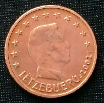 10th Anniversary of the Euro 5 euro cent Henri I, 2002 LUXEMBOURG (87K)