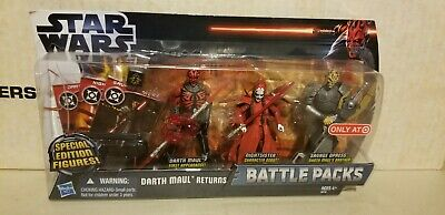 Hasbro Star Wars DARTH MAUL RETURNS - NIGHTSISTER Battle Pack with  NEW & SEALED