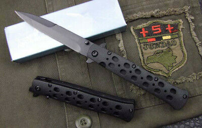 Cold-Steel Liner Lock EDC knife Tactical Saber Folding Blade Camping Tool NEW