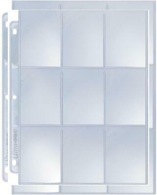 Ultra Pro 9-Pocket Silver Series Page Protector for Standard 25ct