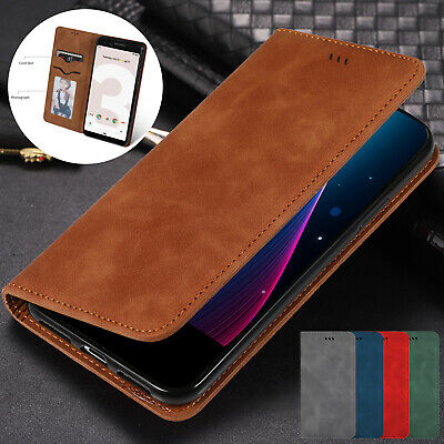 For Google Pixel 3a XL Case Pixel 3 XL Luxury Magnetic Leather Wallet Flip Cover