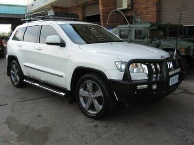 2012 Jeep Grand Cherokee WK MY12 Limited (4x4) White Automatic 5sp A Wagon