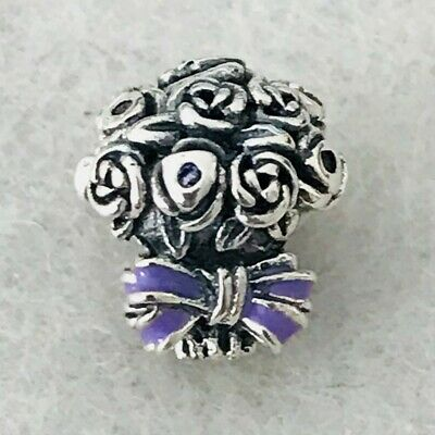 c7ef414b5 Authentic Pandora Celebration Bouquet Charm Lilac & Pink Crystals 797260NLC