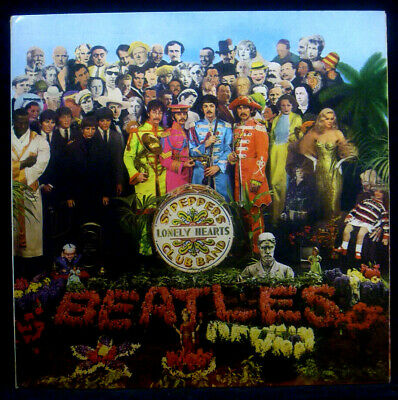 LP the Beatles Sgt. Peppers Lonely Hearts Club Band Insert, Hörzu