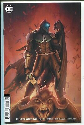 Detective Comics #1005 Stjepan Sejic Virgin Art Variant Cover - Dc Comics/2019