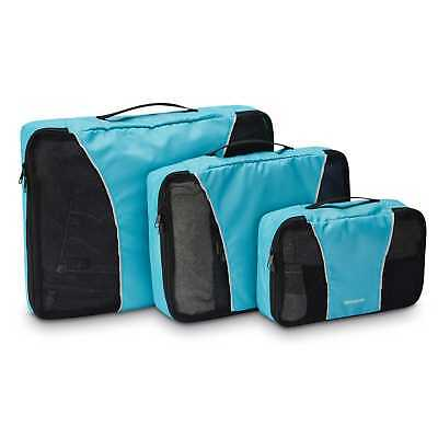 Samsonite Packing Cubes 3PC Set Blue - Luggage
