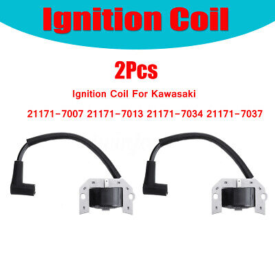 2Pcs Ignition Coil For Kawasaki 21171-7007 21171-7013 21171-7034 21171-7037