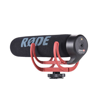 Rode VideoMic Go Microphone For DSLR Cameras With Rycote Lyre Shock Mount U5M2