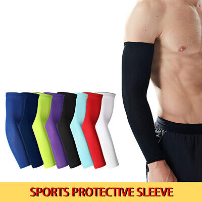 US FAST Arm Sleeves Cover UV Sun Protection Athletic Sports Cooling Men Women
