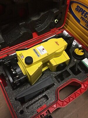 Leica Builder R100M Total Station. Calibrated