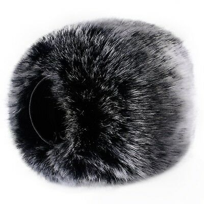 Outdoor Microphone Furry Windscreen Muff for DR-05 & Portable Digital Recorders