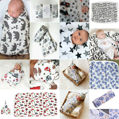 Newborn Baby Blanket Bedding Blanket Wrap Swaddle Soft Muslin Blanket Bath Towel