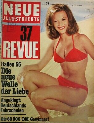 Neue Illustrierte 37 Revue 11.September 1966 B-17413