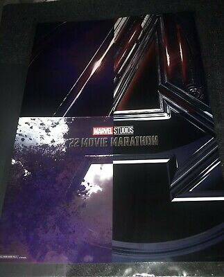 New El Capitan Theater Avengers Endgame poster exclusive promo swag marvel end