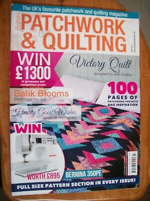 British Patchwork & Quilting Sewing Magazine,July 2014, Issue 246